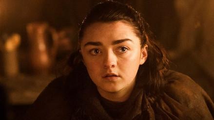 Arya Stark reveló cuándo inicia la última temporada de Game of Thrones