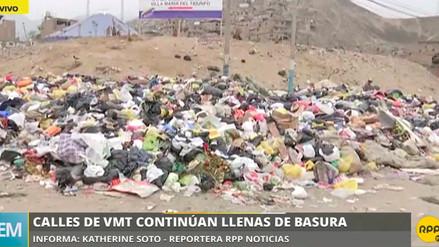 La acumulación de basura origina plagas en Villa María del Triunfo