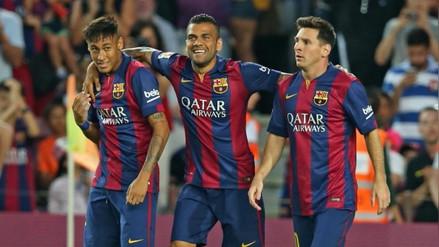 """Dani Alves: """"Neymar tenía que salir de la sombra de Lionel Messi"""