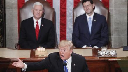 Trump pide al Congreso 1,5 billones de dólares para construir infraestructuras
