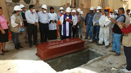 Exhuman los restos de la hermana de 'la Beatita de Humay' en Ica