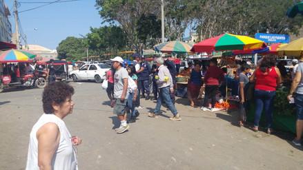 Chiclayo: calles aledañas al mercado Modelo permanecen libres de basura