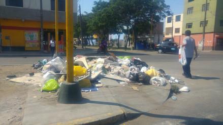 Trujillo: gobierno regional cede maquinaria para campaña de limpieza pública