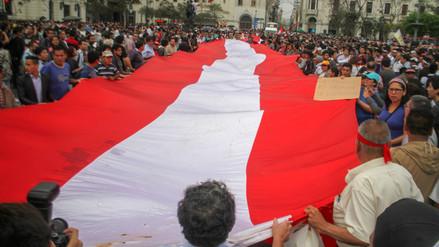La ruta que seguirá la quinta marcha contra el indulto a Fujimori