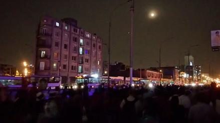 La Defensoría del Pueblo reportó falta de luz durante marcha contra indulto a Fujimori