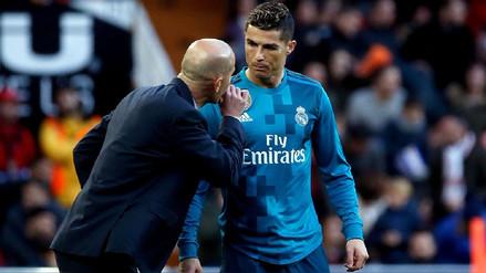 Cristiano Ronaldo no trabajó a la par de sus compañeros en la práctica del Real Madrid