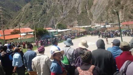 Reportan dos muertos durante paro de productores de papa en Huancavelica y Pasco