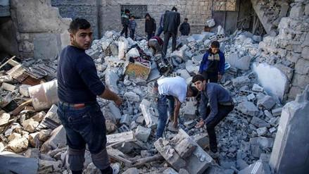 Los bombardeos rusos en Siria han causado 15.735 muertos