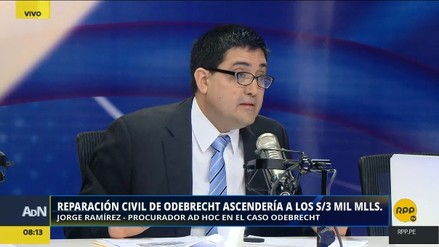 Procurador negó que el monto de reparación civil de Odebrecht entorpezca la colaboración eficaz de Barata