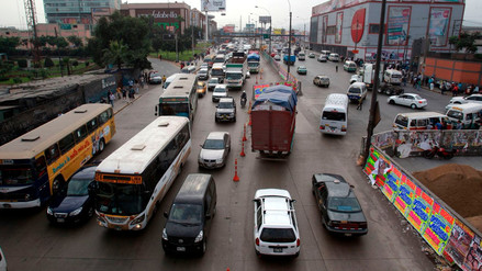 La cuarta parte del tráfico en Lima corresponde a la distribución de carga, según estudio