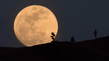 Así fue el eclipse total de la superluna azul