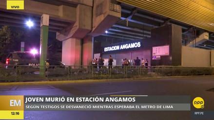 Un hombre murió en la Estación Angamos del Metro de Lima