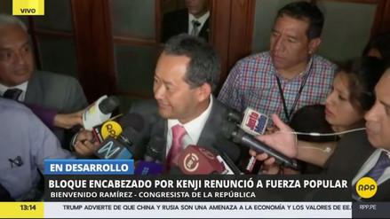 """Bienvenido Ramírez: """"Me siento feliz de haber salido de una olla de grillos"""""""