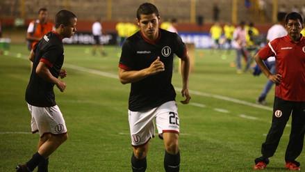 Aldo Corzo será baja en Universitario por 2 semanas debido a esta lesión