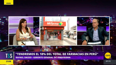 Video | Gerente de Inkafarma: \u0026quot;Nosotros solo vamos a ...