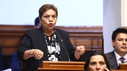 """Luz Salgado a los disidentes: """"No tienen derecho a pedir una reingeniería en Fuerza Popular"""""""