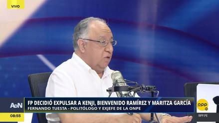 """Fernando Tuesta: """"Kenji Fujimori ha ganado más aceptación en el sector no fujimorista"""""""