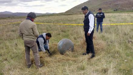 Esferas de satélite serán analizados en Agencia Espacial del Perú