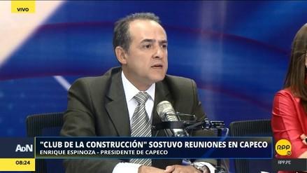Capeco: constructoras involucradas en Lava Jato y el Club de la Construcción podrían ser expulsadas