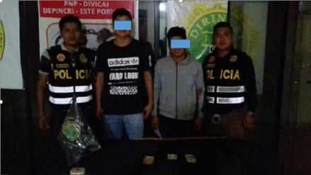 Trujillo: Capturan a menores extorsionadores en El Porvenir