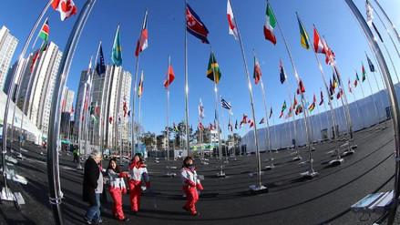 La delegación de atletas norcoreanos llegó al Sur para los Juegos Olímpicos de PyeongChang