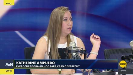 Ampuero criticó al procurador por no presentar el monto global de la reparación de Odebrecht