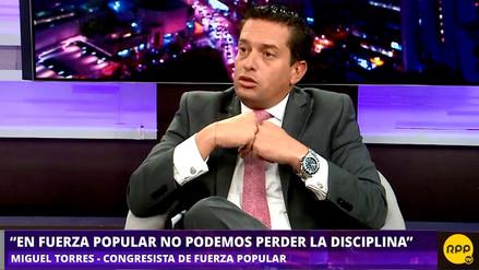 Miguel Torres dice que bloque de Kenji Fujimori ha decidido apañar a PPK