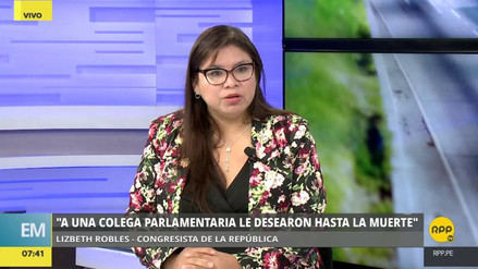 """Lizbeth Robles: """"El pueblo no nos ha elegido para ser obstruccionistas"""""""