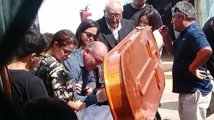 Dolorosa despedida de exalcalde Roberto Torres a su madre en penal