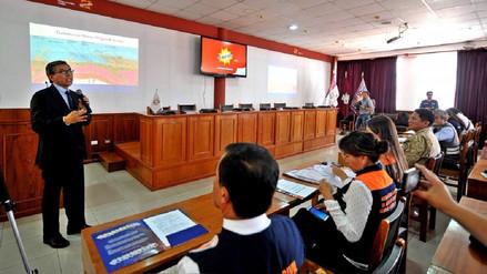 En sesión permanente se declaró la Plataforma Regional de Defensa Civil