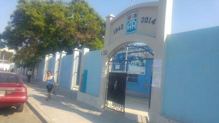 Tensión por falta de nuevo local para colegio Antonio Raimondi en Trujillo