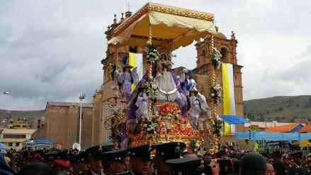 Así celebraron el día central de la Virgen de la Candelaria en Puno