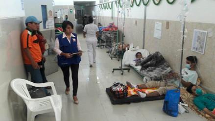 Reubicarán a pacientes del área de Emergencia que dormían en el suelo