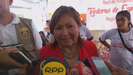 Ministra de la Mujer lamentó muerte de niña calcinada y brindará ayuda a familiares