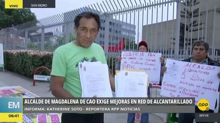 Alcalde de Magdalena de Cao denunció presuntos actos de corrupción en el Ministerio de Vivienda