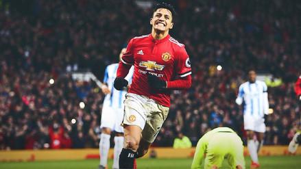Sánchez erró un penal pero marcó su primer gol con el Manchester United