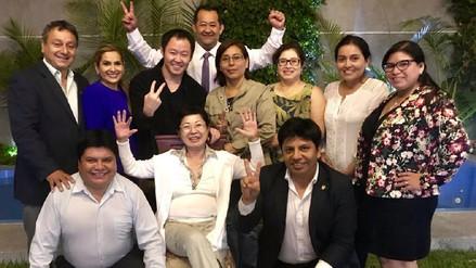 Kenji Fujimori anunció a Susana Higuchi como nueva integrante de su facción