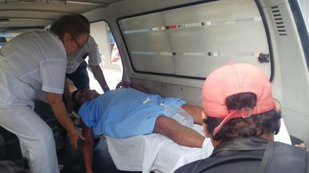 Tres heridos de bala dejó enfrentamiento en canteras de Pátapo
