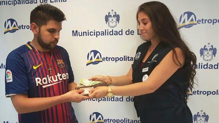 Ciudadano venezolano recuperó documentos y dinero olvidados en el Metropolitano