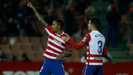 Peña anotó golazo y fue expulsado en victoria del Granada