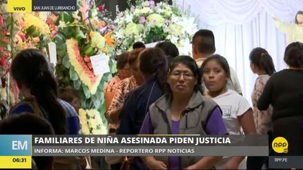 """Los deudos de la niña hallada calcinada piden """"pena de muerte para el asesino"""""""