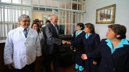 Presidente Kuczynski aumentó el presupuesto para prevención del cáncer