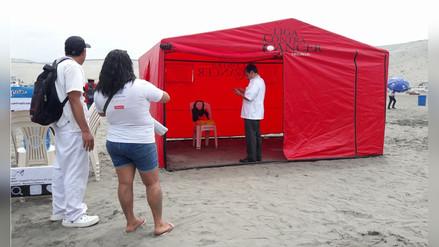 Previenen cáncer a la piel en playa de Salaverry