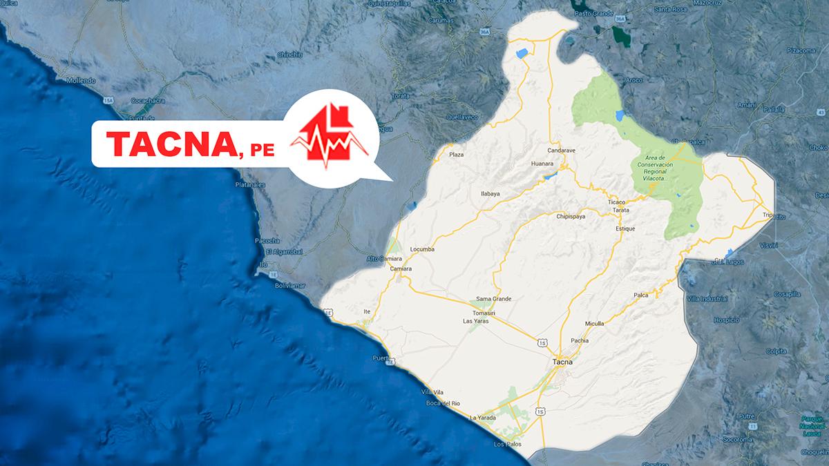 Un sismo de regular magnitud se sintió en el sur del país esta tarde