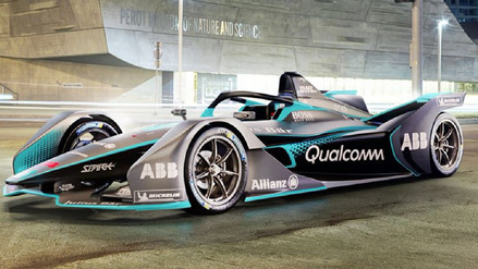 Auto futurista que corre en la Fórmula E será presentado el próximo 6 de marzo