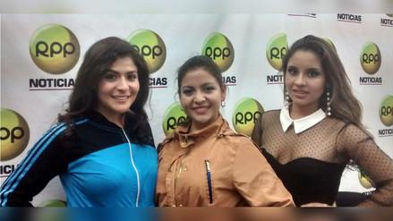 Candidatas a Reina Integración visitaron estudios de RPP Noticias en Cajamarca