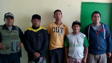 Policía intervino a cuatro personas por coaccionar y exigir cupos en obra de Chiclayo