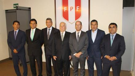 Federación Peruana de Fútbol presentó a la nueva Comisión de Justicia