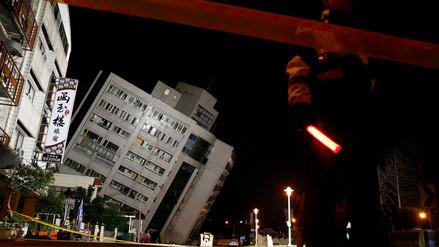 Terremoto de magnitud 6.4 dejó dos muertos y más de 200 heridos en Taiwán