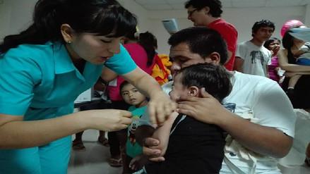 Inicia campaña de vacunación contra la influenza en Piura
